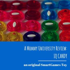 """SMARTGAMES IQ CANDY: A """"SWEET"""" WAY TO LEARN (toy review) by Mommy University at www.mommyuniversitynj.com #smartgames"""