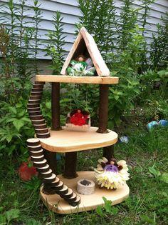 Fairy woodland tree house by LightofdayCreations on Etsy