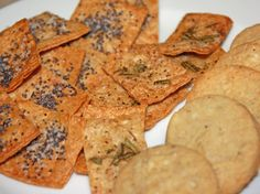 12 Days of Holiday Gifts: Homemade Crackers | Healthy Eats – Food Network Healthy Living Blog