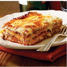 Beef Lasagne... My favorite& nobody makes it better than my Mama❤