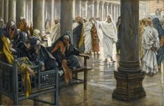 Woe unto You, Scribes and Pharisees, James Tissot (1836-1902)  Source: Wikimedia Commons