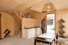 The Netherlands held a competition to design new refugee housing. These are the winners. Wood Cladding, Business And Economics, Refuge, Container House Design, Design Competitions, Tiny Living, Netherlands, Hold On, Interior Design