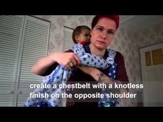 Rucksack tied at shoulder (with and without candy cane chestbelt) - YouTube
