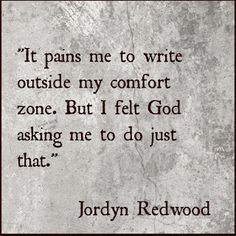 God—You Want Me To Write What?!? with guest, Jordyn Redwood.