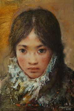 Artist: Tang   Wei Min, Title: Youngest Sister - click to close window