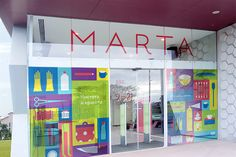 Marta store on Branding Served