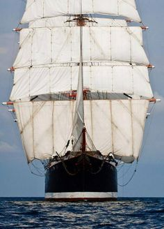 tall ship in all her glory.........wow, that must be an awesome sight!!!!