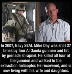 A REAL hero-Thank God he survived and took out the enemy as well ! Military Quotes, Military Humor, Military Life, Military Training, Gi Joe, Support Our Troops, Real Hero, American Soldiers, American Pride