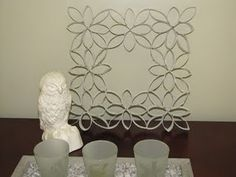 AGAIN made out of toilet paper rolls.... I just need to decide which ones I want to do!