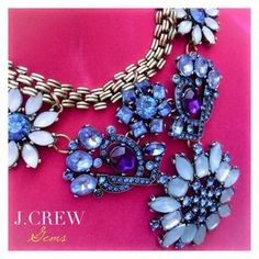 I just discovered this while shopping on Poshmark: 3XHOST PICKJ.CREW Gorgeous Blue Gems. Check it out! Price: $84 Size: OS, listed by shoogal82