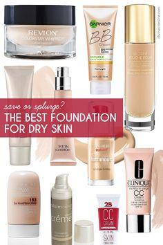 Save or Splurge: The Best Foundation for Dry Skin - divinecaroline.com