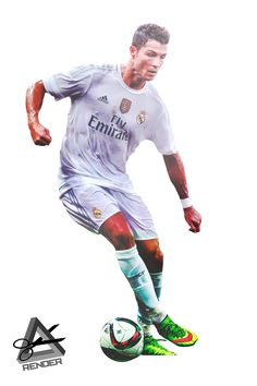 Cristiano Ronaldo Render 2015-2016 Real Madrid by RAAT96