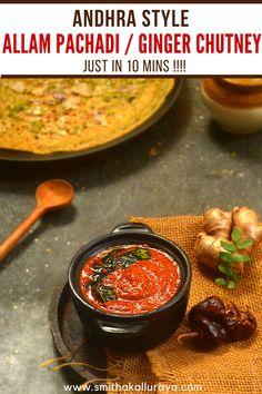 how to do andhra style ginger chutney #GingerChutney #Andhrachutney #AllamPachadi