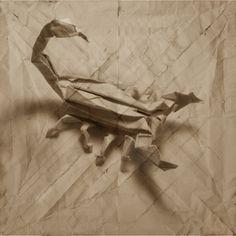 3D Origami Art by Marc Fichou