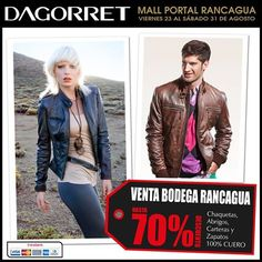 Despedimos Agosto con VENTA DE BODEGA en Portal Rancagua con hasta 70% off, te esperamos !!!