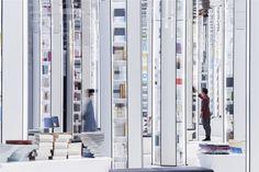 Design Director: Li Xiang Design Team: Liu Huan, Fan Chen, Zhang Xiao, Tong Ni-Na Design Company: XL-MUSE (www.xl-muse.com) Project Type: Bookstore Area: 1000 m2 Location: Hangzhou, China Photography: Shao Feng After years of growth, Hangzhou...