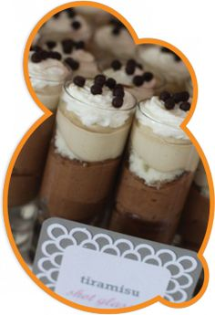 Mini Desserts Anyone? If so, why not incorporate a mini dessert. Key Lime Desserts, Fluff Desserts, Mini Desserts, Party Desserts, Wedding Desserts, Just Desserts, Delicious Desserts, French Desserts, Hawaiian Desserts