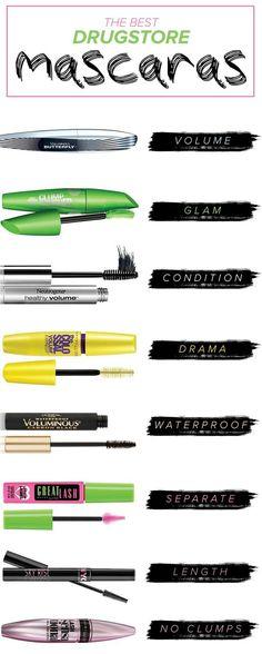 <div>15 drugstore mascaras celebrity makeup artists can't live without – #artists #Celebrity #Drugstore #Live #Makeup #Mascaras</div>