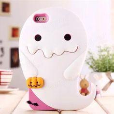 Cute Cartoon Luminous Apparition Ghost Pumpkins Case Soft Silicone Cover For iPhone 6 Cheap Iphone 6 Cases, Iphone Cases Disney, Iphone Case Covers, 3d Cartoon, Cute Cartoon, Ipad Accessories, Mobile Accessories, Ghost Pumpkin, Marble Iphone Case