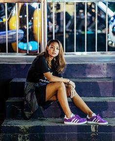 Hannah Pangilinan, Woman Crush, Girl Crushes, Skater Skirt, Photo Ideas, Babe, Mini Skirts, Banana, Celebs