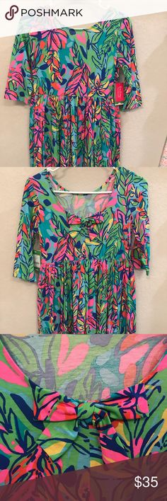 c1445051049 Lilly Pulitzer Mini Evelyn Dress Lilly Pulitzer Girls Mini Evelyn Dress NWT  size XL. I