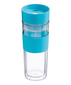 Cypress Home Blue Double-Wall Coffee Travel Mug Coffee Travel, Travel Mugs, Water Bottle, Tableware, Wall, Kitchen Stuff, Blue, Cookware, Clothes