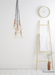 With the news of us moving house in just 5 weeks now, I've been looking for new blush pink and metal home pieces to add straight into our new home. Scandinavian Interior Design, Contemporary Interior Design, Copper Interior, Cluster Lights, Hall Lighting, Hanging Bar, Moving House, New House Plans, Metal Homes