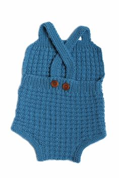 Theo -knitted baby romper -vintage inspired pattern by Dreamiknit on etsy