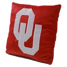Oklahoma Sooners NCAA Team Plush Pillow (16in x 16in)
