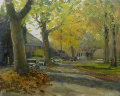 Loolaan. Doetinchem, Holland., painting by artist Rene PleinAir