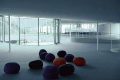 Rolex Learning Center by SANAA, Lausanne
