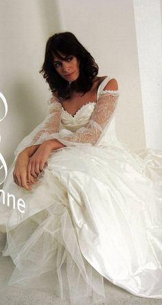 Lambert-creations style Jeanne lace bodice with straps, A line skirt French Wedding Dress, Two Piece Wedding Dress, Wedding Dresses With Straps, Wedding Dresses For Sale, Lace Bodice, A Line Skirts, Fairytale, Off The Shoulder, Style