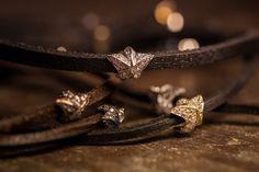 Tomasz Donocik - My new pave diamond star leather wrap bracelets - available at Harrods