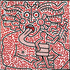 Untitled (1983), Keith Haring