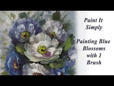 Paint Roses, Flowers and Grapes- Advancing Decorative Painting - YouTube