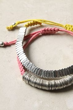 Washers and bolts bracelet from Anthropologie - easy to DIY<--- This one too!
