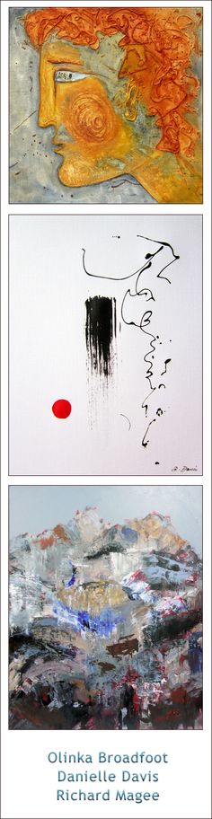 Galri-Montaj — Abstract Expressionism  Olinka Broadfoot | Danielle Davis | Richard Magee