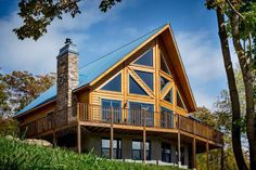 Did you know, the walls of this home were up in less than a day? The beauty of Timber Block's patented system building process. Plus, this home includes R-30 wall insulation-in fact, every single home we build does! www.timberblock.com