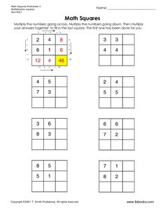 Free Printable Multiplicationdivision Fact Family