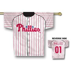 Philadelphia Phillies MLB 2 Sided Jersey Banner (34 x 30)