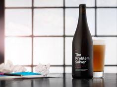 The Problem Solver 「アルコールを摂取すると、想像力がアップする」という研究結果にもとづいてつくられたビール