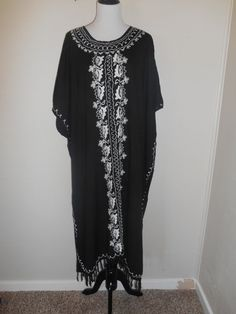 Vintage ethnic long dress      womens women by ATELIERVINTAGESHOP