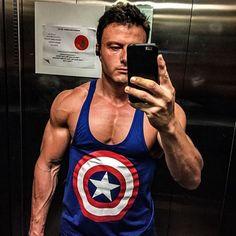 Daniel Kulisz   capitão america - www c1dc65a00e3