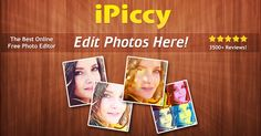 Fix your photos in one click, crop, rotate, apply tons of stunning photo effects, add text and overlays and much more! It's absolutely Free and Fun to use! [c]