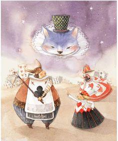 Alice in Wonderland / © Kim Minji - illustrator
