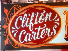 type, sign painting