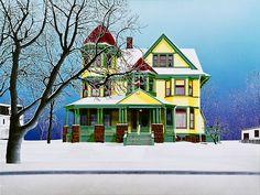 Snowed Under, ©2011 David Thauberger