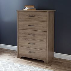 With its transitional kickplate and its moulding on both sides of the drawers, this chest from the Fusion collection will help you create a trendy and peaceful bedroom. Its rustic looking finish goes perfectly with the sleek, modern appearance of this piece, creating something original that will... more details available at https://furniture.bestselleroutlets.com/bedroom-furniture/dressers/product-review-for-south-shore-fusion-5-drawer-chest-rustic-oak/