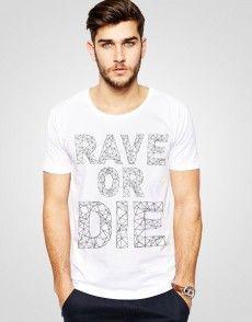 Rave Or Die 2 T-shirt 90s Dress Up, T Shirty, Man Fashion, Rave, Mens Tops, Shopping, Dresses, Moda Masculina, Raves
