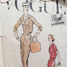 Hey, I found this really awesome Etsy listing at https://www.etsy.com/listing/240216567/vogue-patterns-couturier-design-number